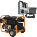 Generac GP7500E - 7500 Watt Electric Start Portable Generator with Power Transfer Kit
