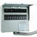 Reliance Controls Pro/Tran 2 - 50-Amp (120/240V 6-Circuit) Transfer Switch w/ Interchangeable Breakers