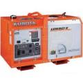Kubota TETGL7000 - 7000 Watt Lowboy Series Mobile Industrial Diesel Generator