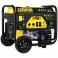 Champion 100165 - 7500 Watt Electric Start Dual Fuel Portable Generator