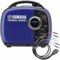 Yamaha EF2000iSv2 (1) Inverter Generator w/ Sidewinder 30-Amp RV Parallel Cable Kit