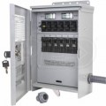 Reliance Controls Pro/Tran 2 - 20-Amp (120/240V 6-Circuit) Outdoor Transfer Switch w/ Wattmeters & Inlet