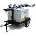 Generac MLT4200IF4-STD - 20kW Towable Diesel Horizontal Mast Light Tower w/ Isuzu Engine & Manual Winch