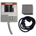 Milbank MMTS301SYSX2C - 30-Amp (6-Circuit) Power Transfer Switch System w/ Inlet Box & 25' Cord