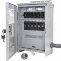 Milbank MMTS501SYSL - 50-Amp (120/240V 6-Circuit) Outdoor Manual Transfer Switch w/ Inlet